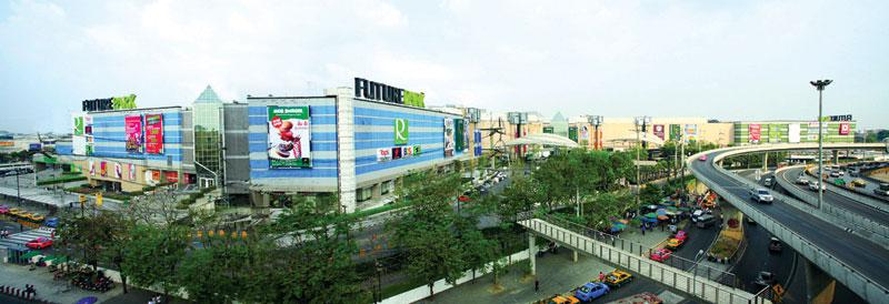 Future City Rangsit, where Future Park is, is currently in development.