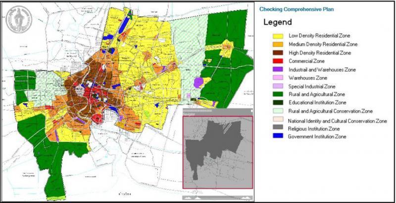Bangkok Urban Development Zones